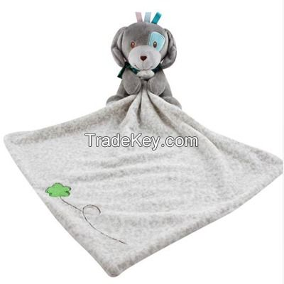 Comfortable baby towel for multi-function  sleeping blanket plush Animal cartoon sheep Elephant