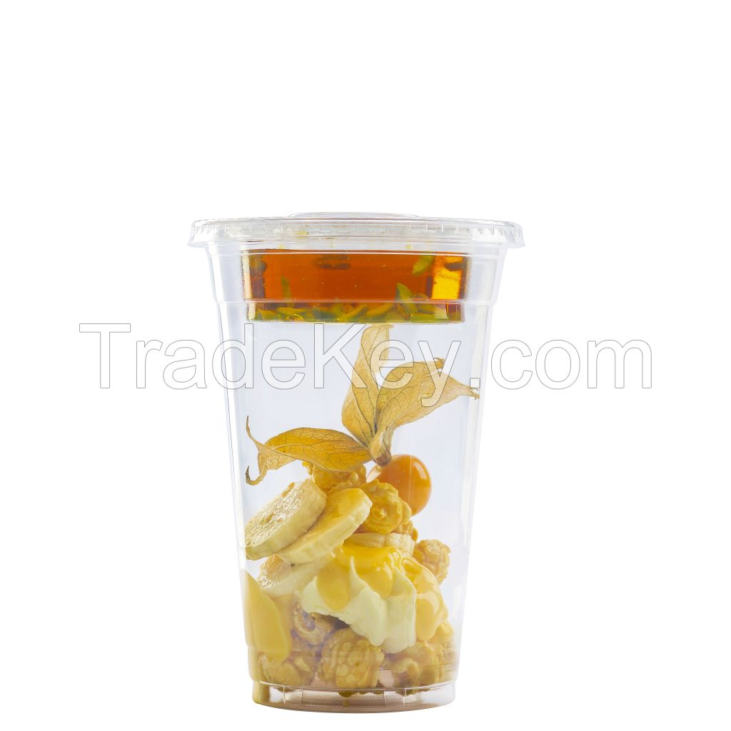 cUPS - Built-in Combinations Disposable Clear Cups