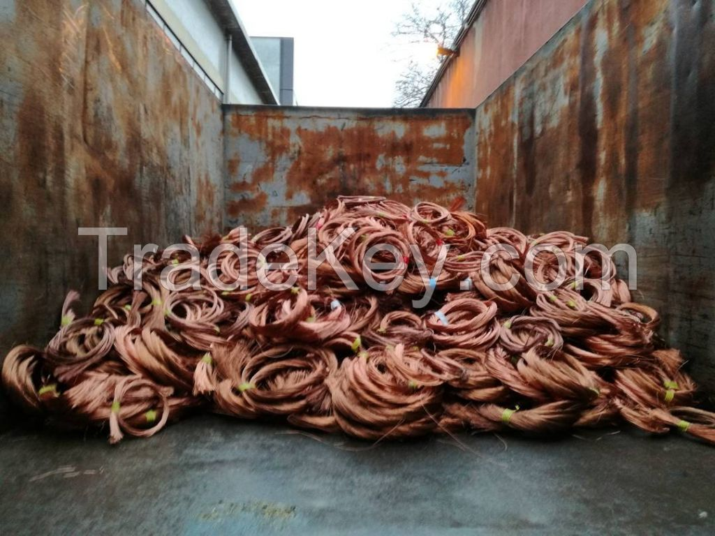 Copper cable scraps / insulated copper ire scraps / copper cables