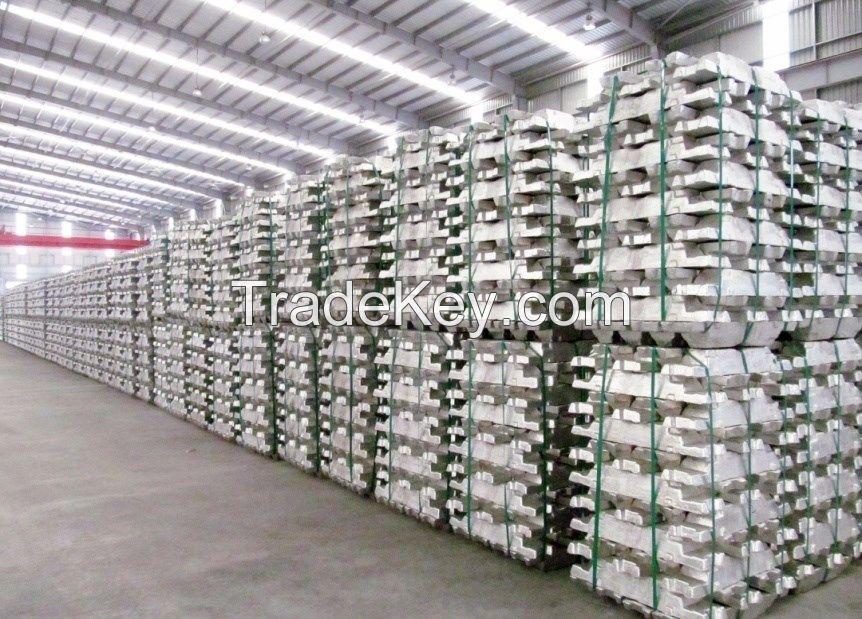 Aluminium ingot 99.7% / Primary Aluminium ingot 99.7%