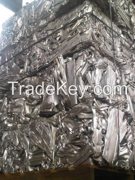 Aluminium Extrusion 6063 scraps in bales