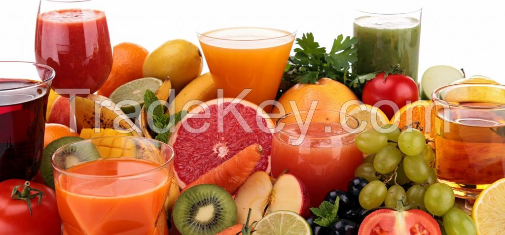 Fresh Fruits, Fruit Juices, Dry Fruits, Individual Quick Freezing IQF Products, Juice Concentrate, Purees and Canned Fruits