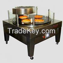 Transparent Pizza Gas Oven