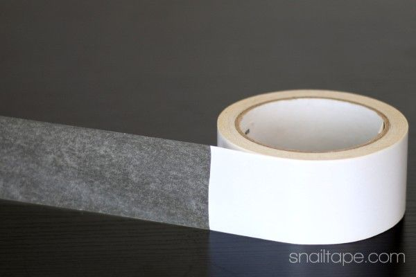 Double sided tissue tape