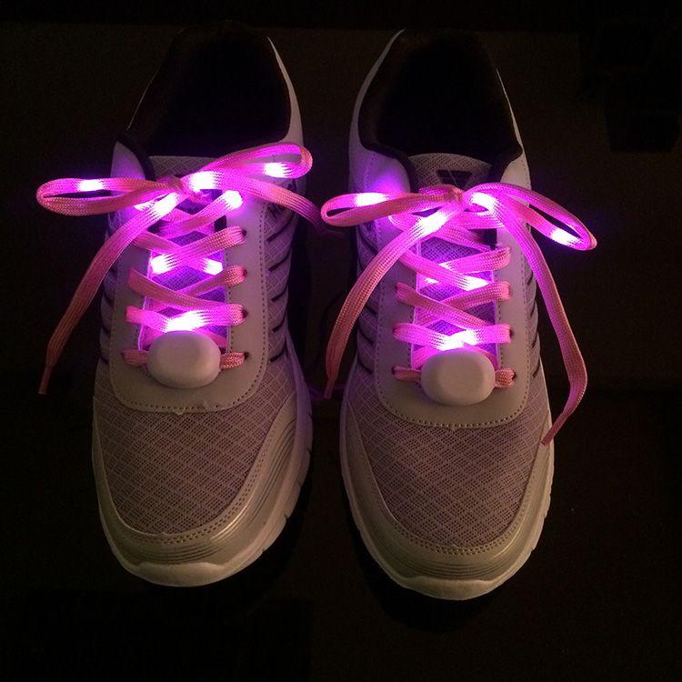 ABS nylon led flashing shoelace