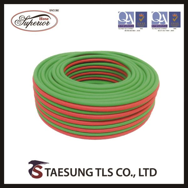 PVC TWIN WELDING (SINGLE) HOSE [TAESUNG]