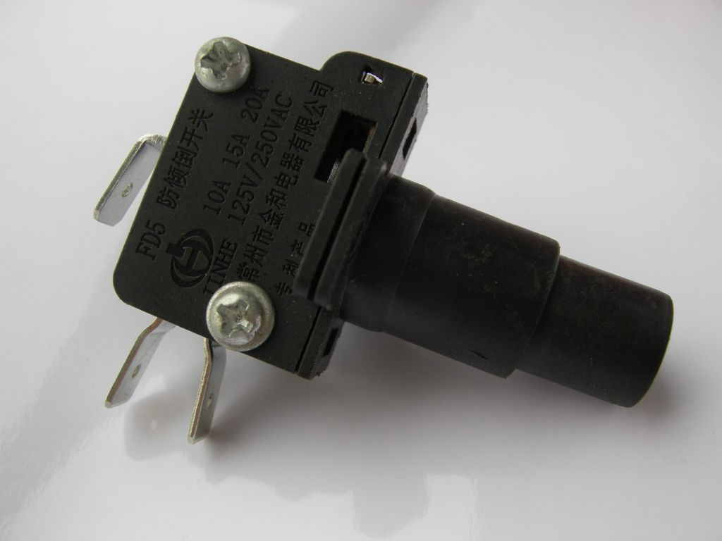 Max.16A 250VAC tip-over switch safety dumping protection Heater dump micro fd5