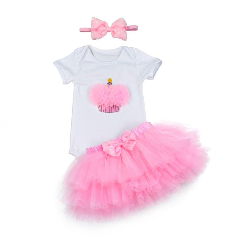 Baby girls 1st birthday tutu set