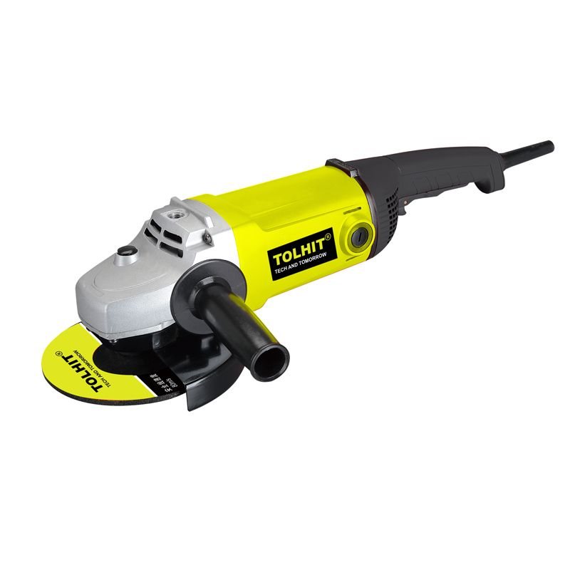 TOLHIT 220-240v 2400w 230mm Professional Big Electric Angle Grinder