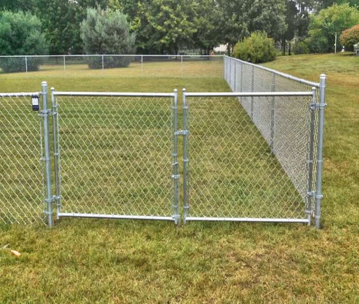 High Quality and Cheap Price Galvanized Chain Link Fence on Sale