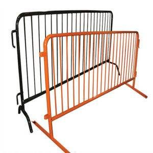 Galvanized or Powder Coated Temporary Crowd Control Mesh Fencing