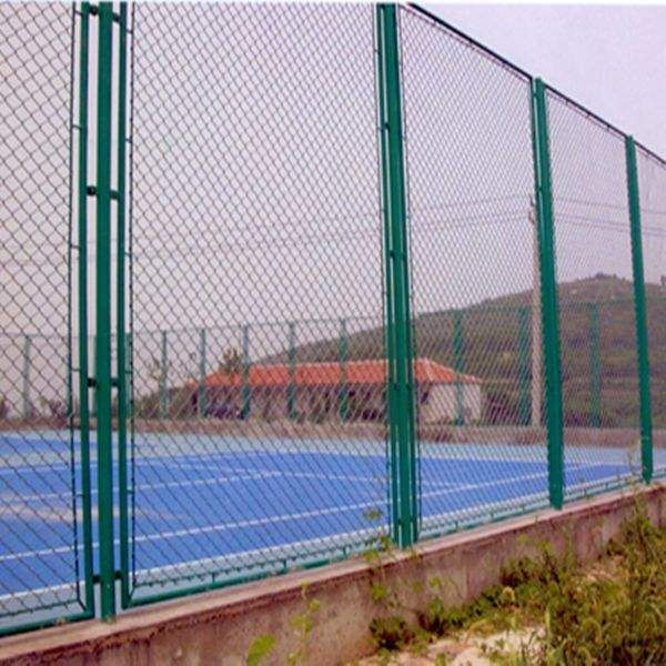 PVC Coated Security Wire Mesh Chain Link Fence