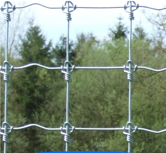 Hot-Dipped Galvanized Farm Grassland Field Fence Made in China