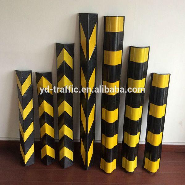 Right angle rubber corner guard 600*100*100*8mm wall edge protector
