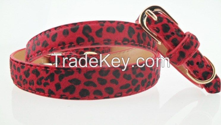 Giliglue's Horse Hair Leather Adjustable Collar