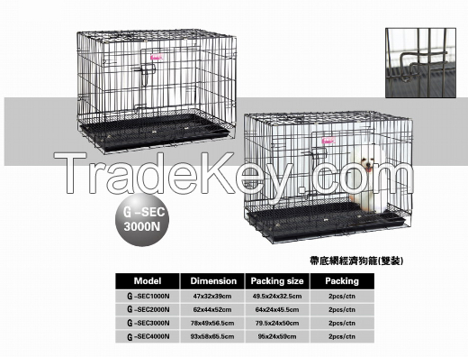 Pet Product Dog Cat Cage Two Suits