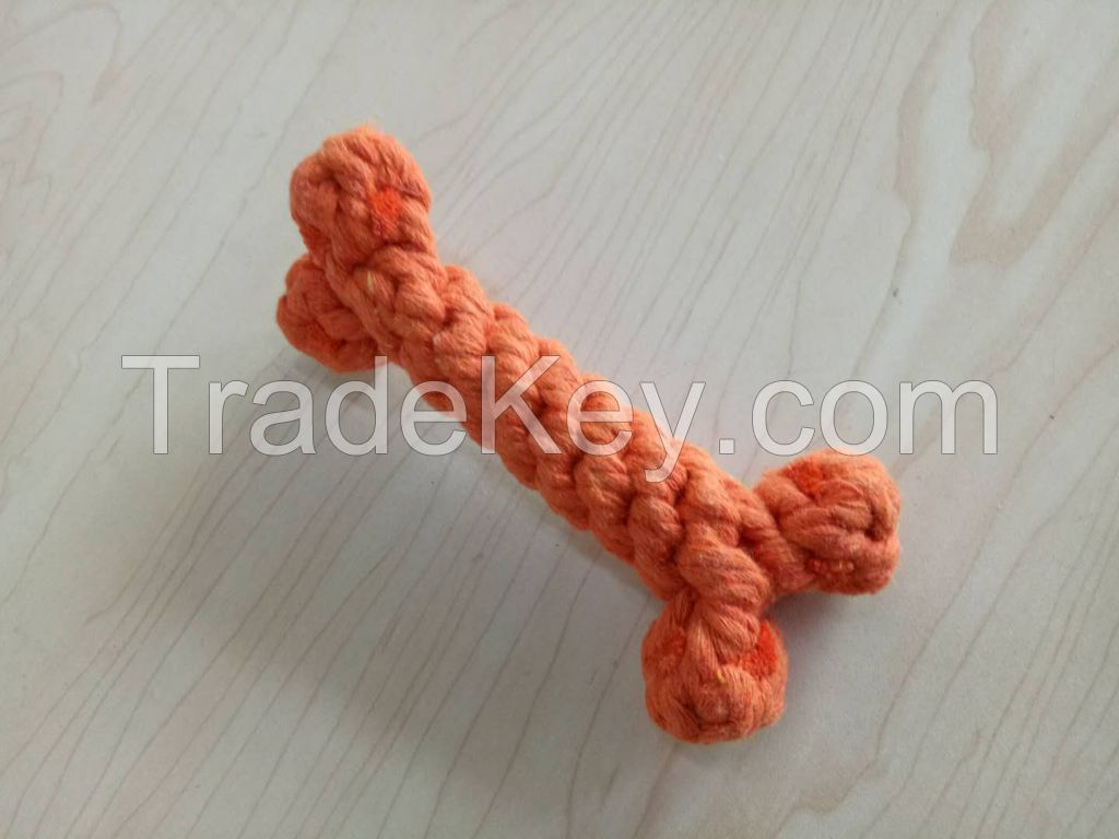 Teeth Cleaning Cotton Rope Dog Toy
