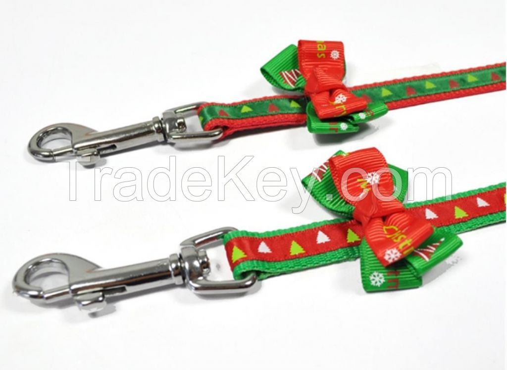 Christmas Pet Leash for Small Dog for Training Jogging Hiking