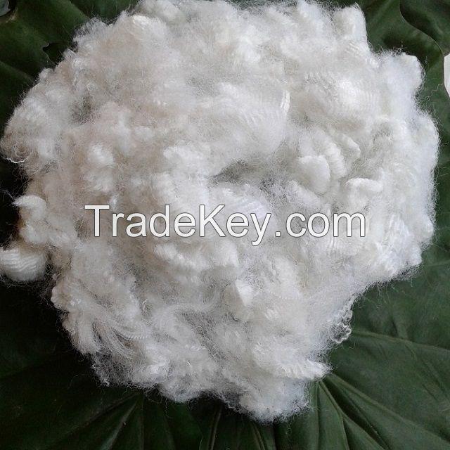15D hollow non-silicon polyester staple fiber A Grade