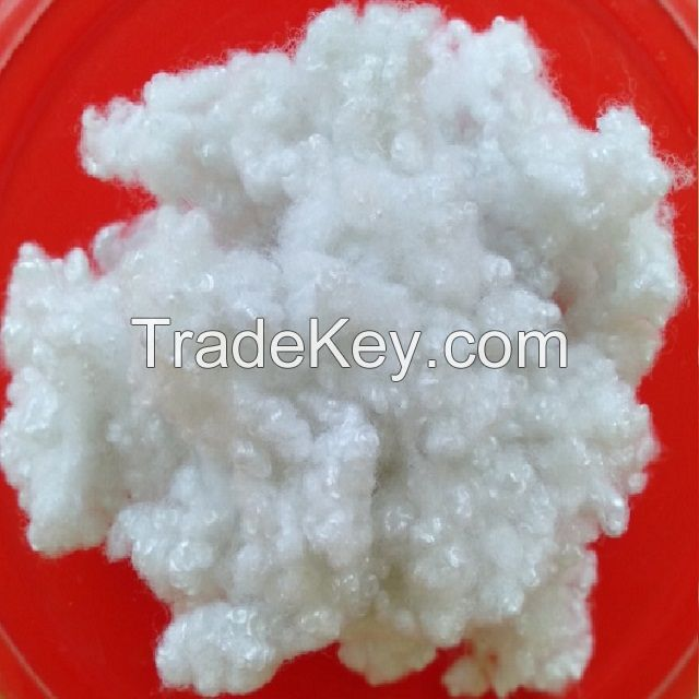 15D hollow conjugated silicon polyester staple fiber A grade
