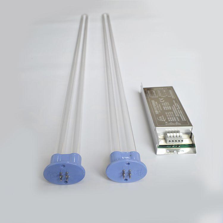 150W 810mm U shape amalgam uv lamp for air purify