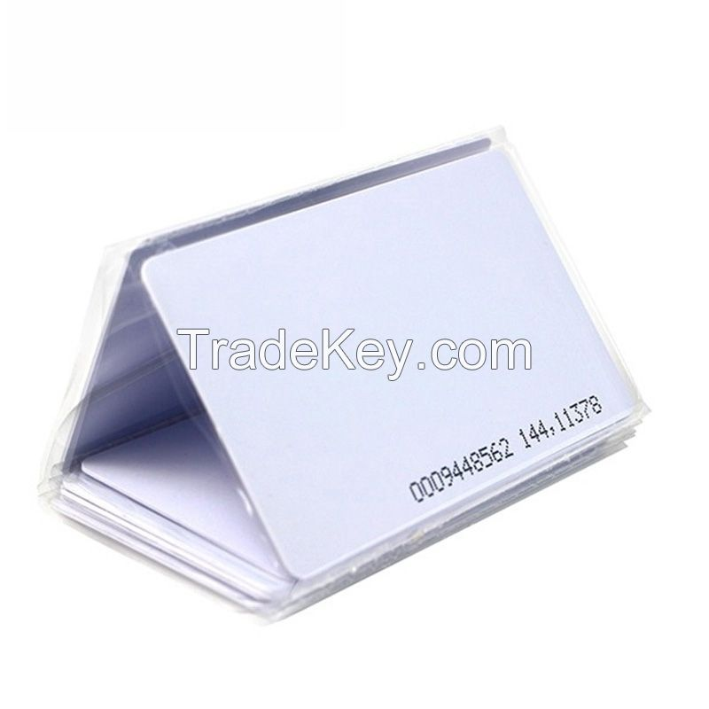 125khz/ 13.56mhz TK4100 S50 ID IC contactless rfid card