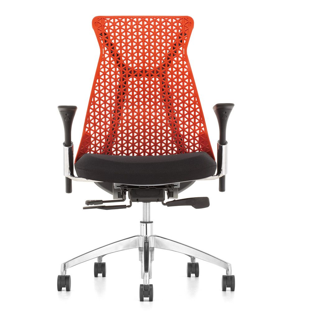 Modern creative meeting chair meeting room high quality soft swivel italian leisure 3D armchair