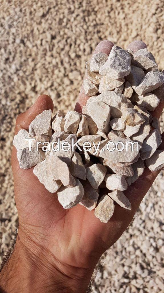 aggregates and sand