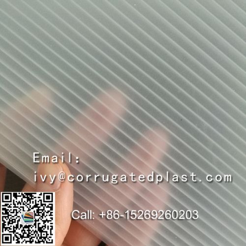 New style best price pp polypropylene corrugated plastic sheet