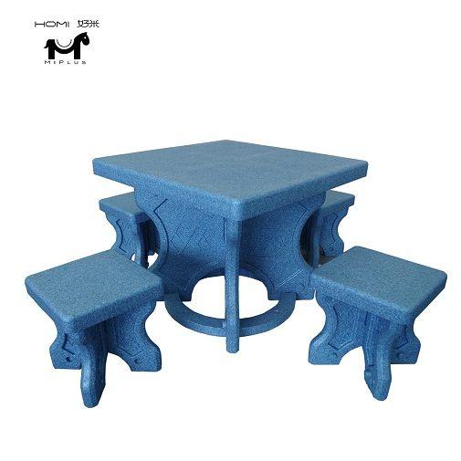 kids table chair urltra-Light EPP foam safety furniture for children