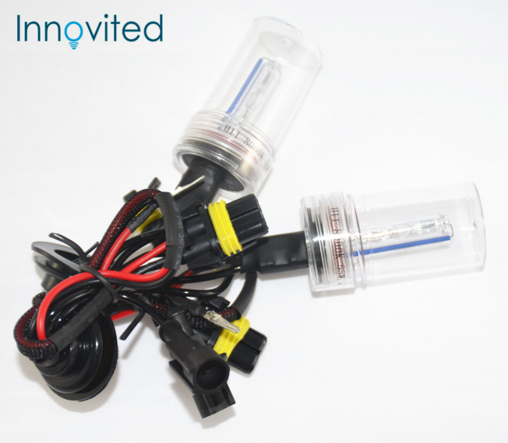 Innovited 55W 2 PCS HID Xenon Lamp H11 8000K Bright Blue HID Xenon Bulb
