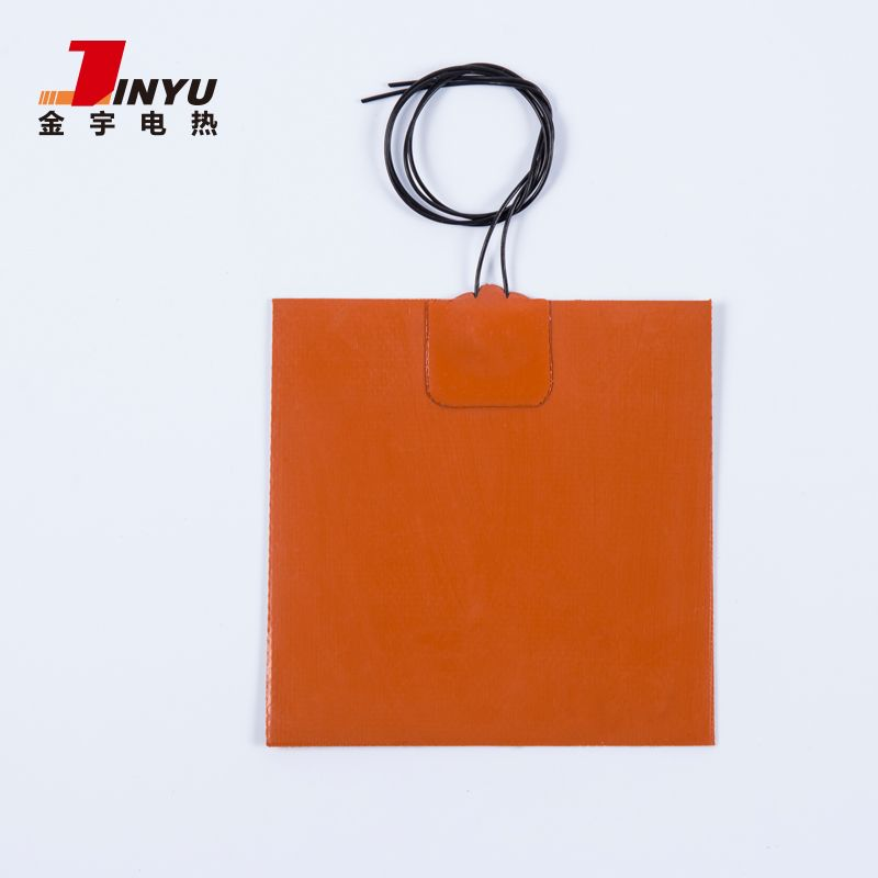Flexible custom silicone rubber heater heating pad