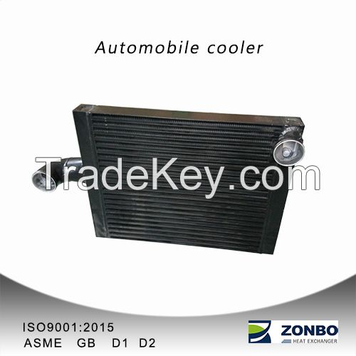 A car cooler of Aluminum plate-fin heat exchanger