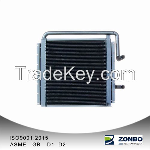 Aluminum Plate-fin heat exchanger for Loader