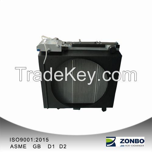 Aluminum Plate-fin Cooler for excavator