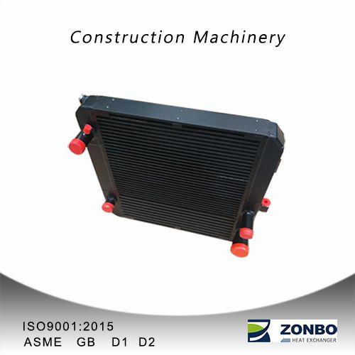 Construction machinery heat exchanger cooler