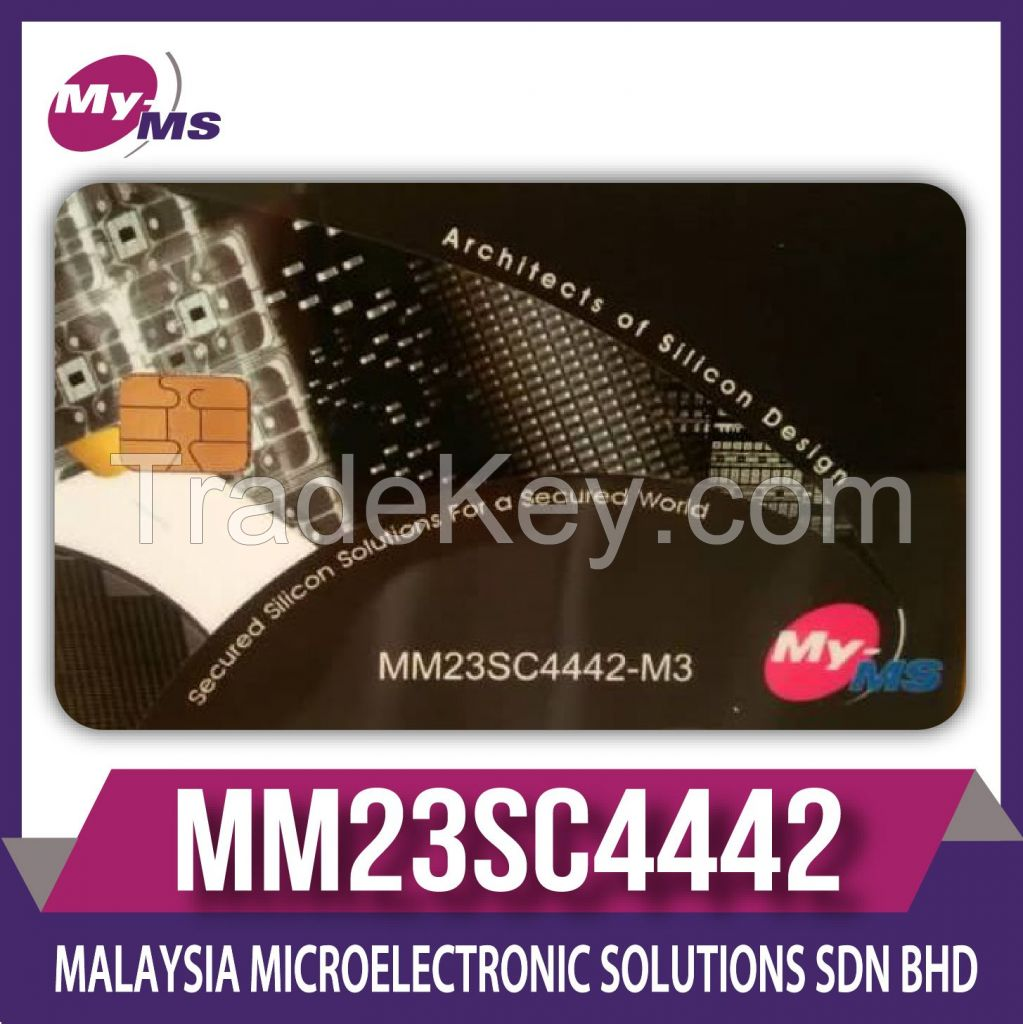 SECURED MEMORY 4442 / 5542 COMPATIBLE CHIP MODULE