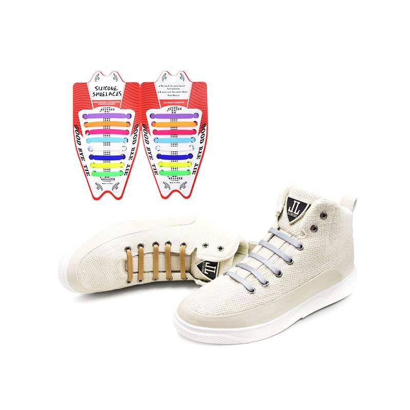 Factory price silicone no tie shoelaces from China