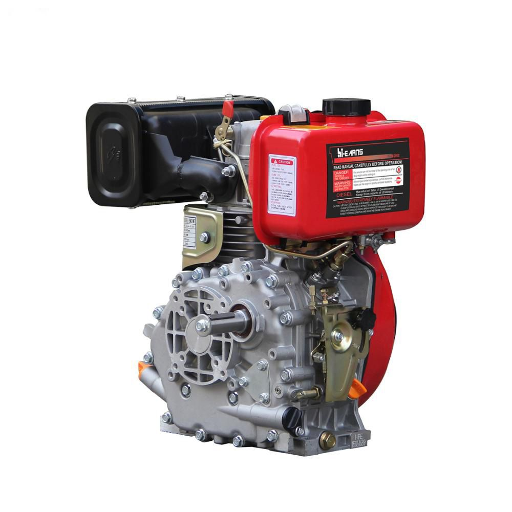 Single Cylinder Air-Cooled 4-Stroke Mini Diesel Engine