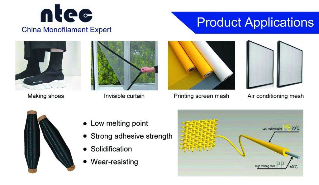 NTEC Provide Low Melting Sheath-Core Monofilament Yarn