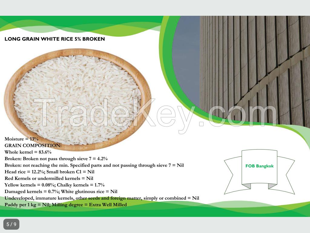 Gold Lotus Thai Long Grains White Rice