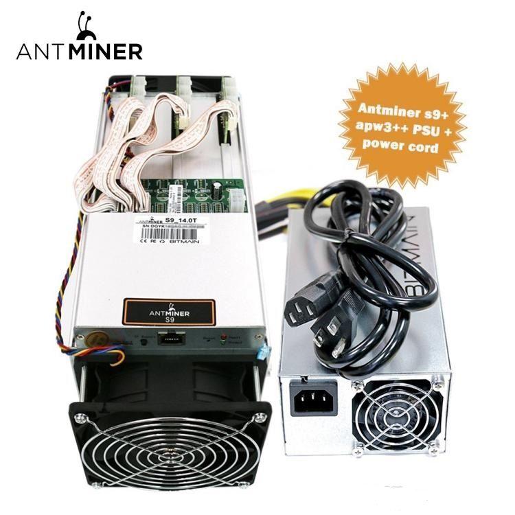 Bitmain antminer S9I 14.5TH/S with original PSU