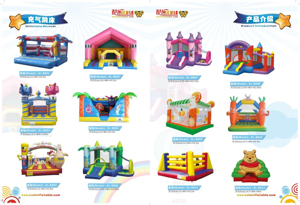 Customized PVC Bouce House +Moon Bouce for Adults and Kids