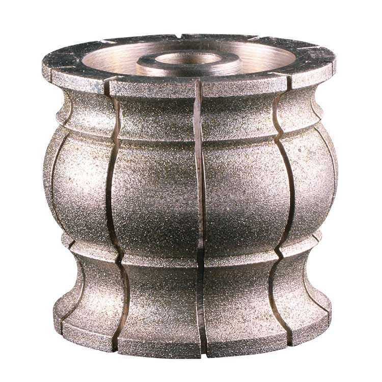 Electroplated Diamond Profile Wheel Grinding Granite And Marble