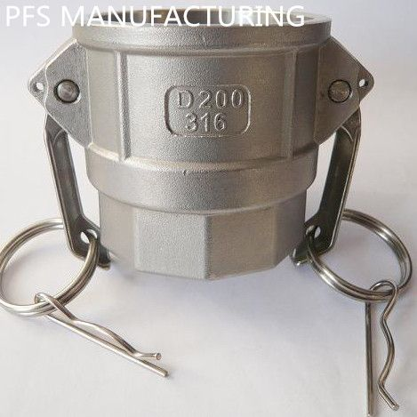Stainless steel 304/316 Camlock couplings acoples rapidos kamlok