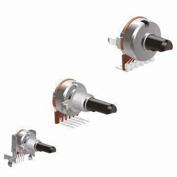 potentiometer for amplifer, car audio,volumn control WITH SWITCH