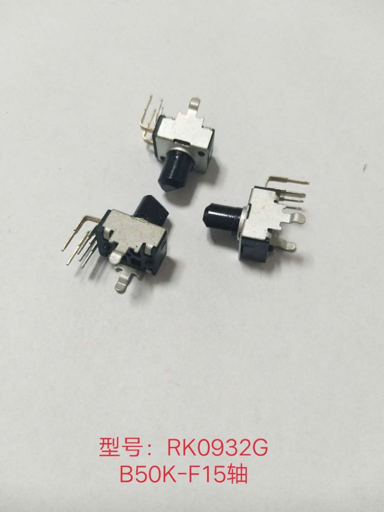 Insert-Molding Insulated Shaft Potentiometers with Ratings Power for car amplifer