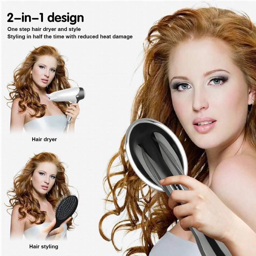 One Step Hair Dryer & Styler Hot Hair Brush, Hair Dryer Straightener. BR131