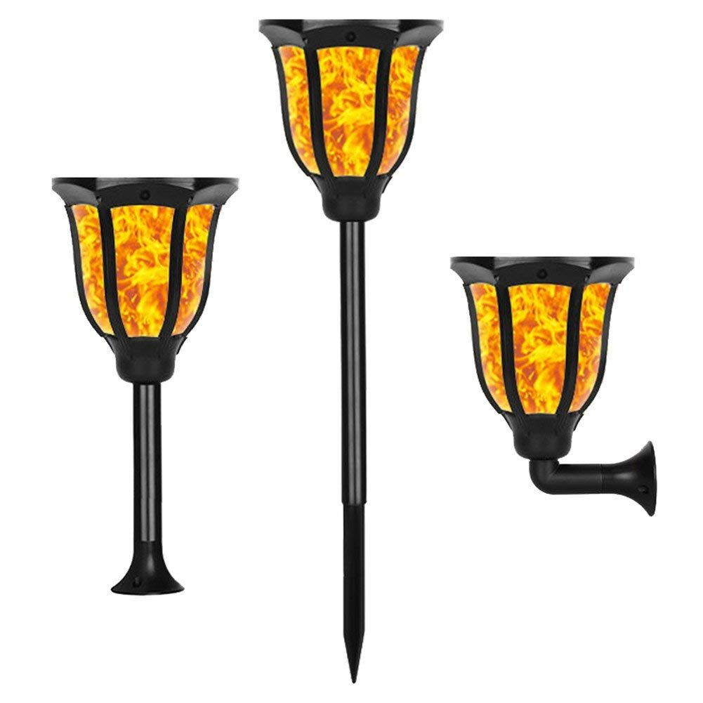 Solar Light 6 color with Flickering Flame-Sunklly Waterproof Solar Lighting Landscape Decoration for Garden Patio Yard Driveway, auto ON/OFF  SL130
