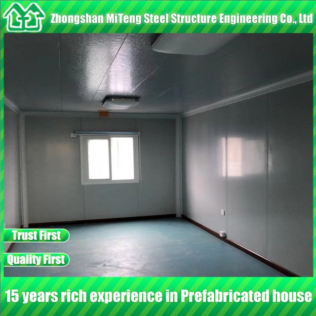 China Light Steel House Container Expandable Container House used for Hotel and Office